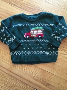 Hartstrings Christmas Tree Holiday Sweater 12 Months | eBay