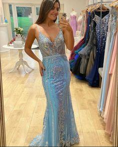 Straps Prom Dresses, Long Prom Gowns, Dress Long, Formal Prom, Formal Dresses, Evening Dresses, Spaghetti Straps, Bride, Color Box