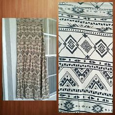 Tribal print maxi skirt Soft and stretchy. Goes great with a black tank or crop top, and some bangles! Skirts Maxi