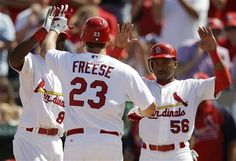 Freese with the 3run homer today!!! Man love Spring Time in St. Louis via Chattanooga, TN!!