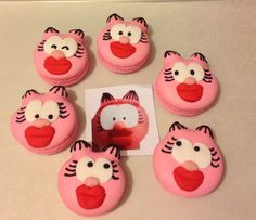 My Garfield's girl friend macaroons (cute macaron)