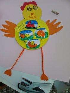 Το μαγικό κουτί της...Κατερίνας: Η κότα έκανε το αυγό ή το αυγό την κότα;;;; Τα πασχαλινά μας...