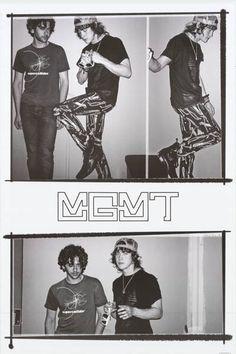 MGMT Candid Shots Goldwasser VanWyngarden Music Poster 24x36