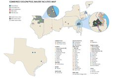 (COMBINED EXELON PSEG MAJOR FACILITIES MAP)