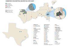 (COMBINED EXELON PSEG MAJOR FACILITIES MAP)