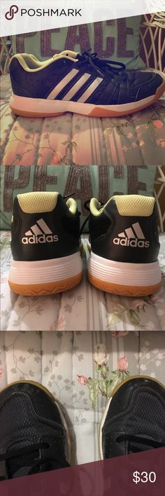 innovative design c1b2c 6d72c Womens Adidas volleyball shoessneakers These are nice used condition.  Look brand new on