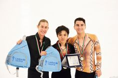 Jason Brown(USA) Shoma Uno(JAPAN) and Max Aaron(USA)