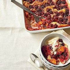 """Blackberry Cobbler   """"I remember always wanting my grandmother to make this cobbler for me when I was a little girl,"""" says country singer Lauren Alaina.   SouthernLiving.com"""