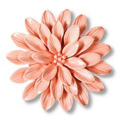 Threshold™ Ceramic Flower Wall Sculpture - Pink