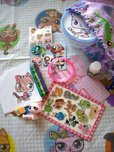Littlest Pet Shop - homemade party ideas