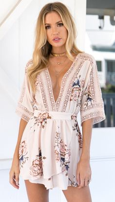 Make A Wish Playsuit