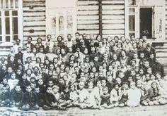 Bialystok children in the Udmurtia Republic in the Urals, 1941 Photo By: B'NAI B'RITH WORLD CENTER