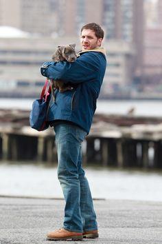 Tom Hardy Photo - Tom Hardy Films Animal Rescue With a Cuddly Co-Star