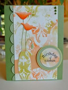 Poppy Birthday by Laurene - Cards and Paper Crafts at Splitcoaststampers