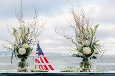 Branches Decorated with Ivory Flowers