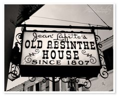 New Orleans Absinthe House Photograph  by JillianAudreyDesigns, $45.00