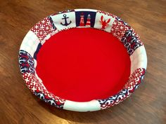 Anchor Nautical Lobster Dog Puppy Whelping Box / Pool / Bed COVER