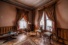 The Haunted Victorian Mansion - TrigPhotography Haunted Houses For Sale, Haunted Houses In America, Mansions Homes, Abandoned Mansions, Norman Rockwell, Second Empire, House Inside, Victorian Homes, Victorian Decor