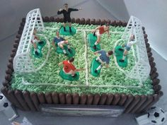 Old fashioned football cake