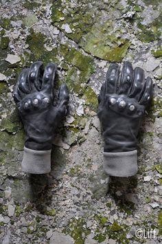 Carol Christian Poell Titanium Gloves