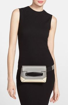 Marni Colorblock Leather Convertible Fanny Pack | Nordstrom