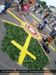 Los Santos: Corpus Christi - Alfombra de Flores