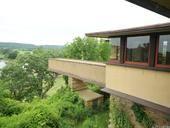 Taliesin, WI - View of walkway