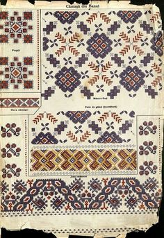 Folk Embroidery, Embroidery Patterns, Pattern Books, Needlepoint, Folk Art, Bohemian Rug, Diy And Crafts, Projects To Try, Textiles
