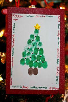christmas card to logan's teacher...