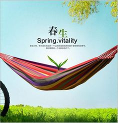 Portable Outdoor Leisure Traveling Camping Parachute Nylon Fabric Parachute Hammock for HOT Sale