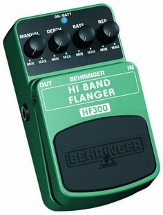 Behringer HF300 Hi Band Flanger Ultimate High-Band Flanger Effects Pedal by Behringer. $28.94. BEHRINGER HI BAND FLANGER HF300 Ultimate High-Band Flanger Effects Pedal  Experience a complete new flanging sound that takes your guitar and keyboard to a new level This BEHRINGER product has been designed to compete head to head with leading products on the market Different from conventional flangers, the HF300 flanges one octave higher creating a much brighter and cleaner sou...