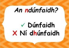 Aimsir Fháistineach (Future Tense rules/endings full poster set) Tenses Rules, Irish Language, Future Tense, Syllable, Classroom Displays, Alphabet, Writing, Learning, Poster