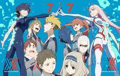 Darling in the FranXX anime Blu-ray & DVD cover art by Masayoshi Tanaka Manga Anime, Anime Dvd, Mahou Sensou, Zero Wallpaper, Manhwa, To Love Ru Darkness, Satsuriku No Tenshi, Zero Two, Best Waifu