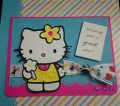 Hello kitty greetings cricut cartridge brand new not linked hello images for hello kitty cricut cartridge m4hsunfo