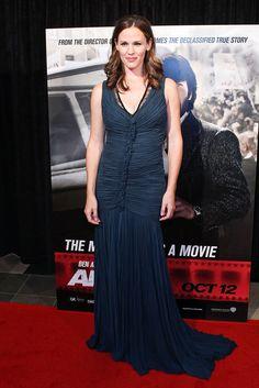 The beautiful Jennifer Garner wore a #RobertoCavalli evening gown at the 'Argo' #premiere in Washington, DC.