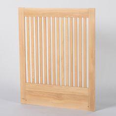 Zebra Collection ~ NOVA sänggavel i björk 90-210 cm