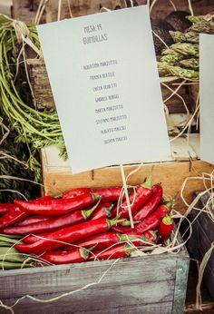 Boda con hortalizas. #espacios #bodas #bodasenbarcelona #aspiccatering #eventos #catering