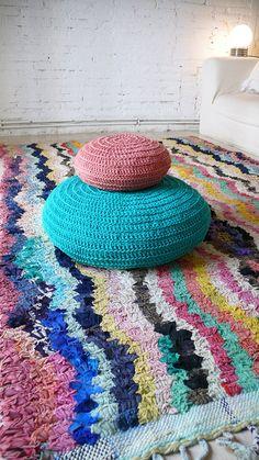 Vintage Moroccan Rag Rug  BOUCHEROUITE Missoni por lacasadecoto, €275.00