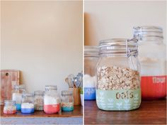 DIY dipped canisters