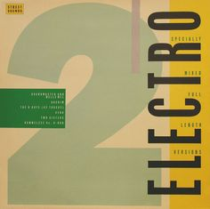 """Various Artists - """"Electro 2"""" (1983)"""