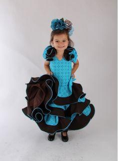 Girl's flamenco dress