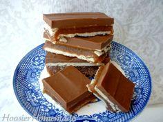 no bake - diy twix bars via hoosier handmade -  mmmm!