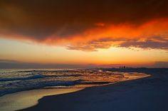 Florida, Puesta De Sol, Cielo, Nubes