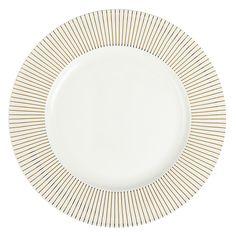 Buy John Lewis Mirror Dinner Plate, White Online at johnlewis.com