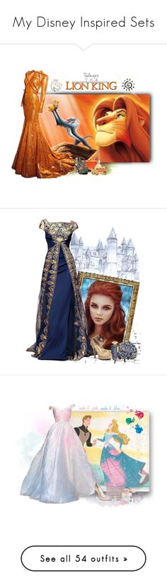 """""""My Disney Inspired Sets"""" by love-n-laughter ❤ liked on Polyvore featuring disney, Nicolas Jebran, Edie Parker, Jimmy Choo, Sisley, Évocateur, Georges Hobeika, Judith Leiber, The Merchant Of Venice and Menbur"""