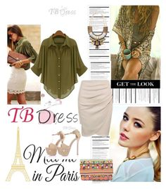 """TBDRESS 1/14"" by antonija2807 ❤ liked on Polyvore featuring Arche, WallPops, Star Mela, dress, women and tbdress"