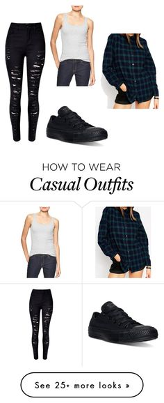 """Casual"" by chisom-og on Polyvore featuring Gap, Converse and ASOS"