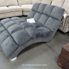 S Shaped Chaise Double Chaise lounge indoor Fabric Costco Bainbridge Double Chaise Lounge   Costco  FrugalHotspot  . Double Chaise Chair. Home Design Ideas