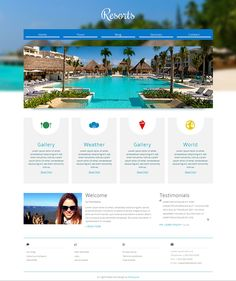 15  Best Free Hotel Templates and Themes