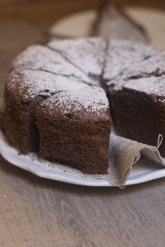chocolate cake to prepare the day before - Recipe - Cake-Kuchen-Gateau Sweet Recipes, Cake Recipes, Dessert Recipes, Chocolat Cake, Italian Wedding Cakes, Cupcakes, Food Cakes, Sweet Treats, Food And Drink